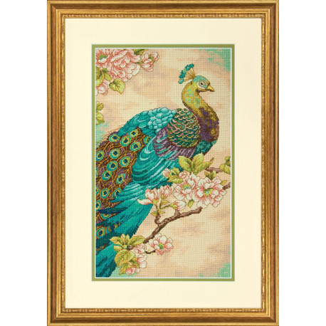 Набор для вышивания Dimensions 70-35293 Indian Peacock фото