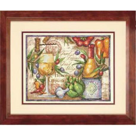 Набор для вышивания Dimensions 70-03247 Pinot Grigio фото