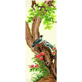 Набор для вышивки Сделай Своими Руками Китайские мотивы-Куропатки К-31