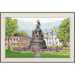 """Набор для вышивки крестом Овен """"Витославлицы. Великий Новгород"""" 1216"""