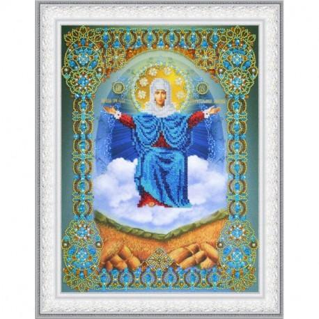 """Набор для вышивания бисером Картины Бисером Икона """"Покров Пресвятой Богородицы"""" Р-403"""