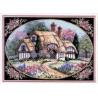 Набор для вышивания крестом Dimensions 06710 Enchanted Cottage