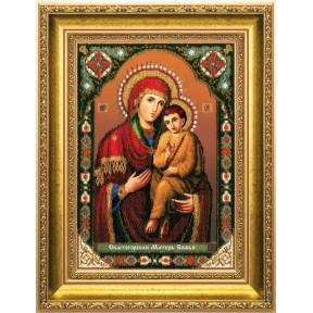 """Набор для вышивания""""Икона Божьей Матери Б-1188 Святогорская"""