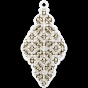 Набор для вышивания бисером на пластиковой основе Волшебная страна FLPL-001