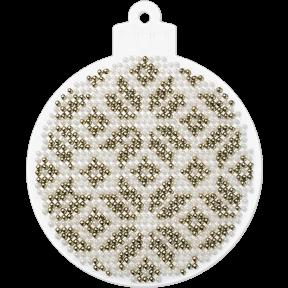 Набор для вышивания бисером на пластиковой основе Волшебная страна FLPL-002