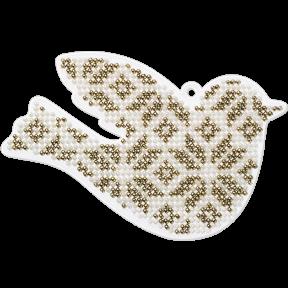 Набор для вышивания бисером на пластиковой основе Волшебная страна FLPL-004