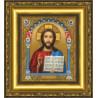 Набор для вышивания бисером Б-1203 Икона Господа Вседержителя
