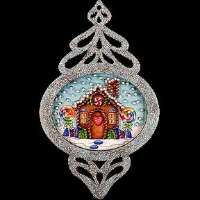 Елочная игрушка для вышивания бисером Волшебная страна FLE-015