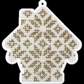 Набор для вышивания бисером на пластиковой основе Волшебная страна FLPL-008