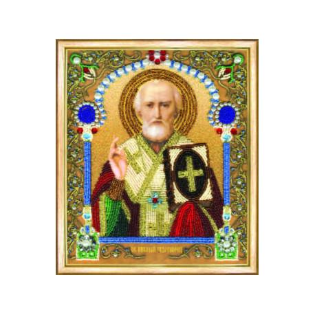 Набор для вышивания Б-1206 Икона святителя Николая Чудотворца