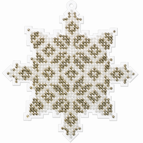 Набор для вышивания бисером на пластиковой основе Волшебная страна FLPL-009