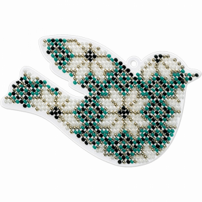 Набор для вышивания бисером на пластиковой основе Волшебная страна FLPL-012