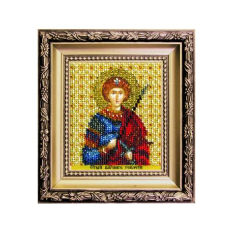 Набор для вышивания бисером Б-1212 Икона св.вмч. Георгия фото