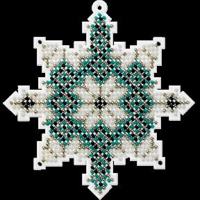 Набор для вышивания бисером на пластиковой основе Волшебная страна FLPL-016