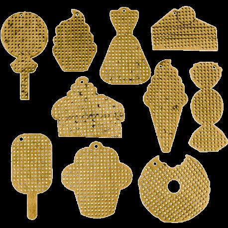 ЕНабор заготовок для вышивания по дереву Волшебная страна FLSW-001