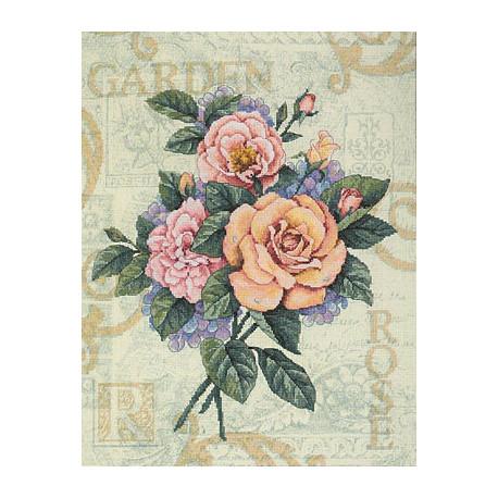 Набор для вышивки Dimensions 35143 Rose Garden Cutting фото