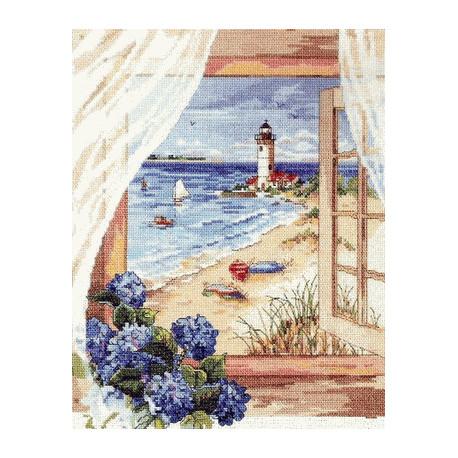 Набор для вышивания Janlynn 023-0144 A View From the Window фото