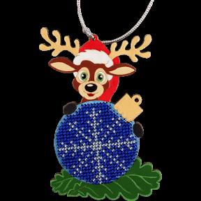 Набор для вышивания бисером по дереву Волшебная страна FLK-003
