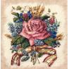 Набор для вышивания крестом Classic Design Роза в букете 4468