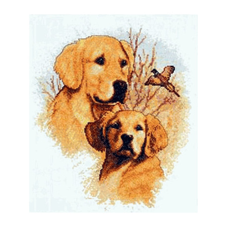 Набор для вышивания Janlynn 013-0337 Dogs Hunting Companions