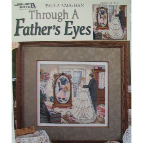 "Схема для вышивания ""Through a Father's Eyes"" by Paula Vaughan 3794"