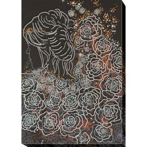 Набор для вышивки бисером на холсте Абрис Арт «В лунном свете» АВ-704