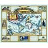 Набор для вышивания 015-0237 Wonders of the Ancient World Map