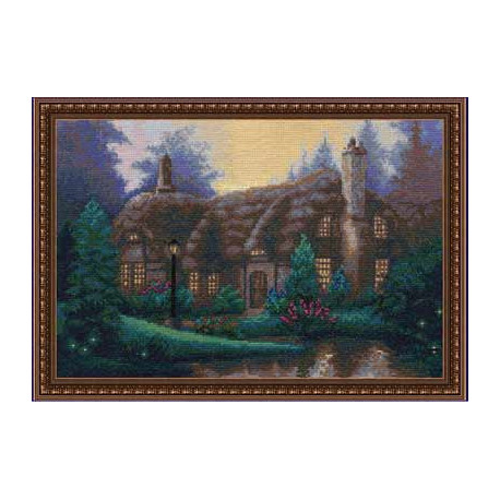 Набор для вышивки крестом Panna ВС-0438 Сказочный домик фото