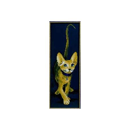 Набор для вышивки крестом Panna К-0694 Золотой сфинкс фото