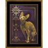 Набор для вышивки крестом Panna К-0897 Египетская кошка фото