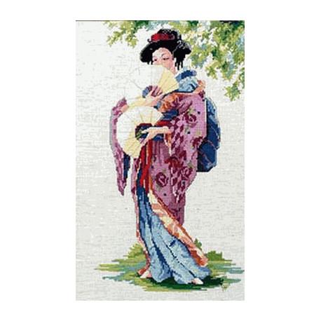 Набор для вышивания Janlynn 023-0118 Oriental Lady фото