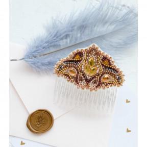 Набор для вышивки бисером на холсте Абрис Арт «Гребень Скандинавский мотив» ADH-003