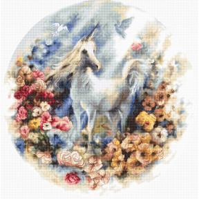 Набор для вышивания LETISTITCH Unicorn LETI 903