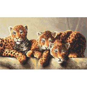Набор для вышивания LETISTITCH Leopards LETI 910