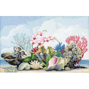 Набор для вышивки крестом Чарівна Мить Кораллы М-350