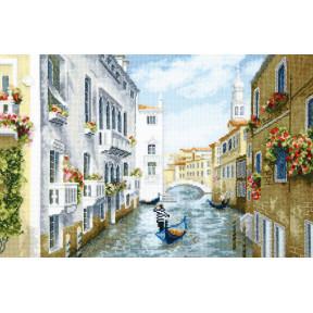 Набор для вышивки крестом Чарівна Мить Полдень в Венеции М-384