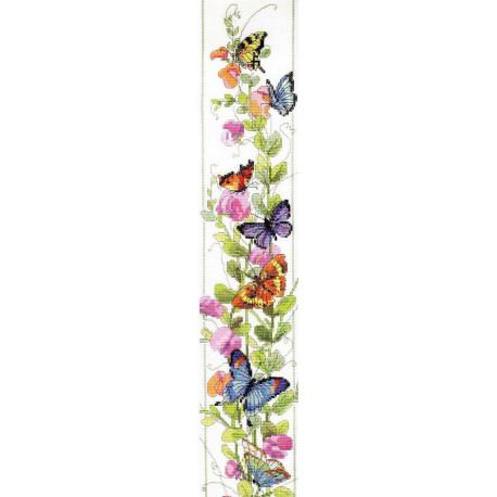 Набор для вышивания Janlynn 023-0310 Butterfly Bell Pull фото