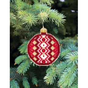 """Набор для вышивания крестом Crystal Art Серия """"Счастливого Рождества"""" Т-14"""