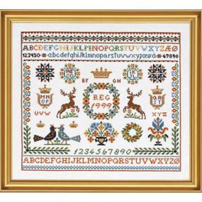 Набор для вышивания Eva Rosenstand Sampler 12-751