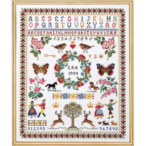 Набор для вышивания Eva Rosenstand Sampler 12-539