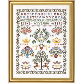 Набор для вышивания Eva Rosenstand Sampler 12-538