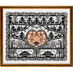 Набор для вышивания Eva Rosenstand Silhouette 12-495