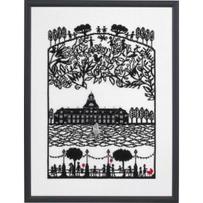 Набор для вышивания Eva Rosenstand Papercut Castle 14-371