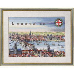 Набор для вышивания Eva Rosenstand London 12-353