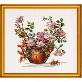 Набор для вышивания Eva Rosenstand Teapot with roses12-278