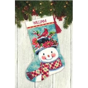 Набор для вышивания гобеленом Dimensions  Seasonal Snowman 71-09159