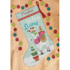 Набор для вышивания Dimensions Llama stocking 70-08977