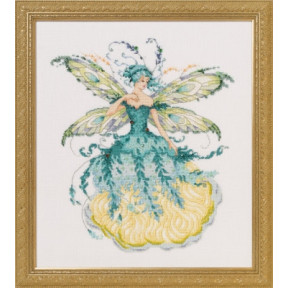 Схема для вышивания Mirabilia Designs March Aquamarine Fairy MD159