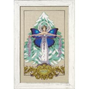 Схема для вышивания Mirabilia Designs Winter Love MD163