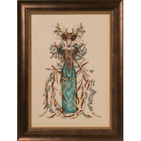 Схема для вышивания Mirabilia Designs Cathedral Woods Goddess MD164